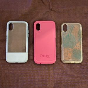 IPhone X /XS otterbox phone case x3